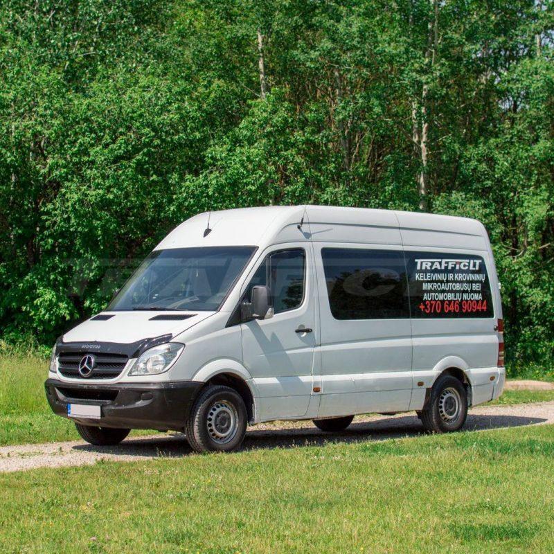 Mercedes-Benz Sprinter iki 15 vietų | Mikroautobusų ir automobilių nuoma 1
