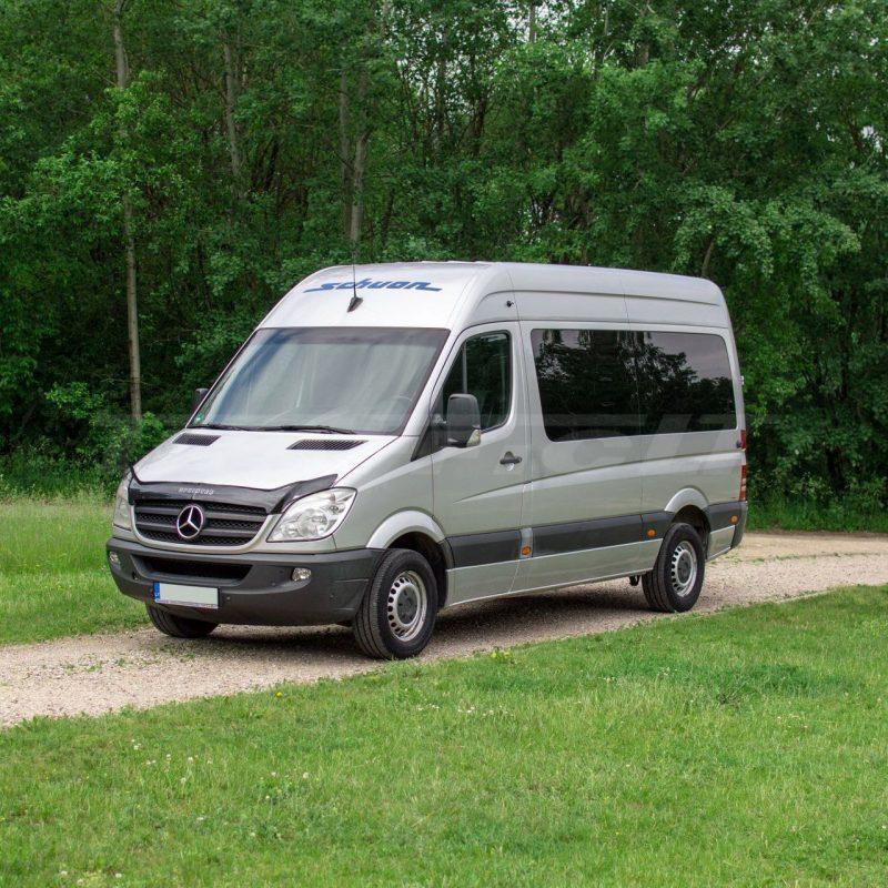 Mercedes-Benz Sprinter iki 9 vietų | Mikroautobusų ir automobilių nuoma 1
